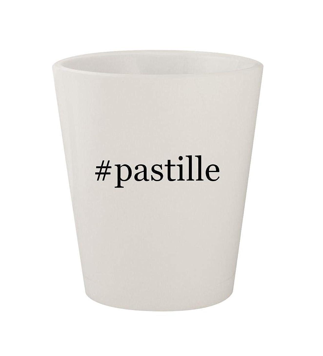 #pastille - Ceramic White Hashtag 1.5oz Shot Glass