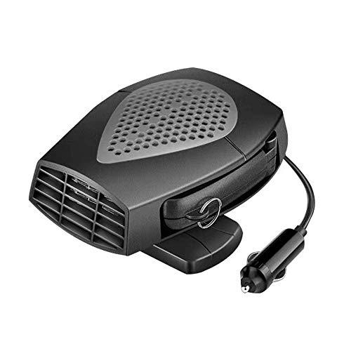 Queta Racoaimtt ventilatorkachel, voor in de auto, van verwarming, defroster, cool ventilator, 12 volt, 150 W, winter