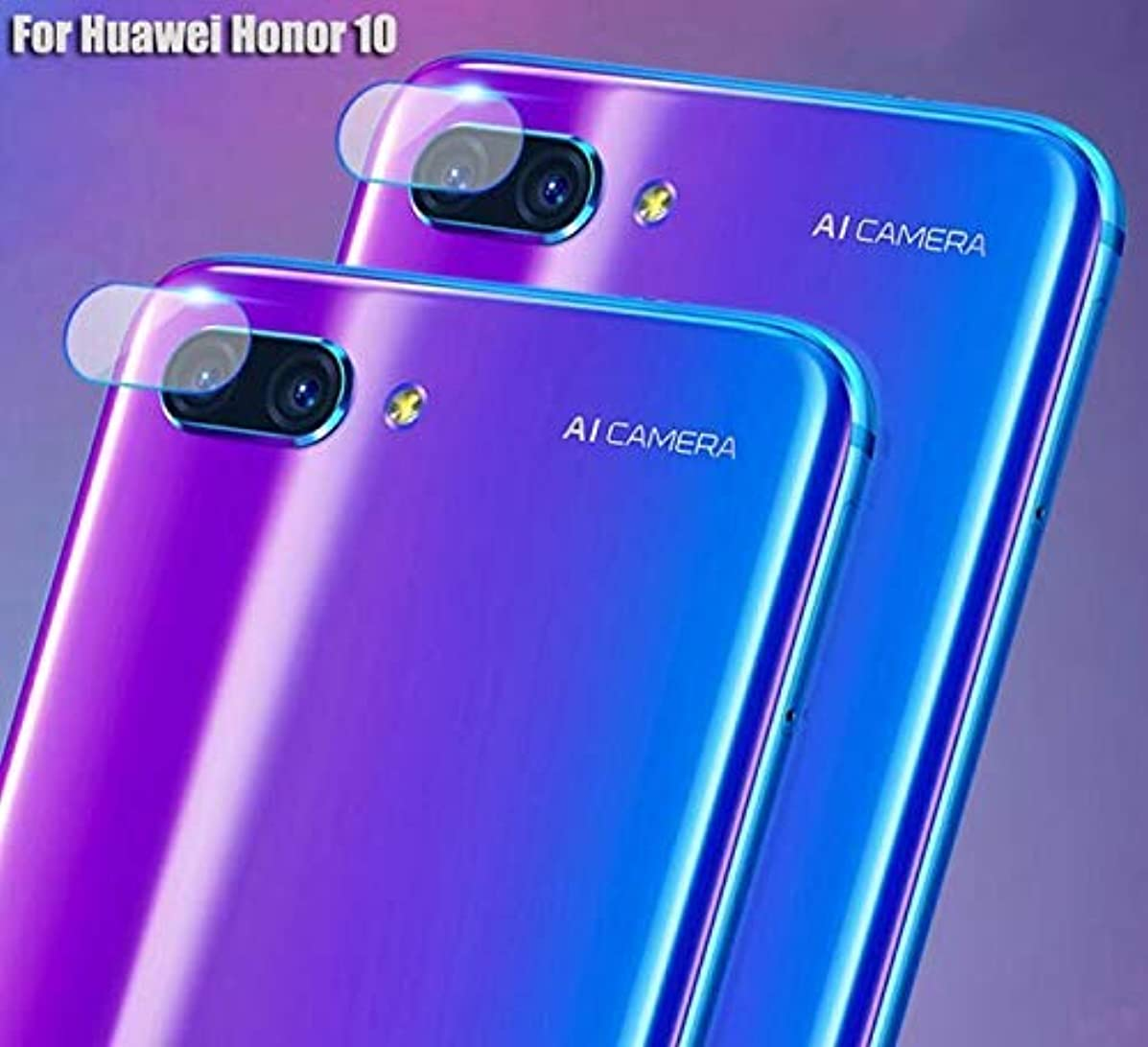 Back Camera Lens Tempered Glass for Huawei Honor 10 Protector Protective Film-2 Packs-High Transparency