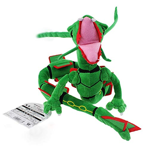 Pitaya. 2017 83Cm Plush Toy Green Rayquaza Dragon Plush Toys Doll Soft Stuffed Animals Toys Brinquedos Gift for Children -Multicolor Complete Series Merchandise