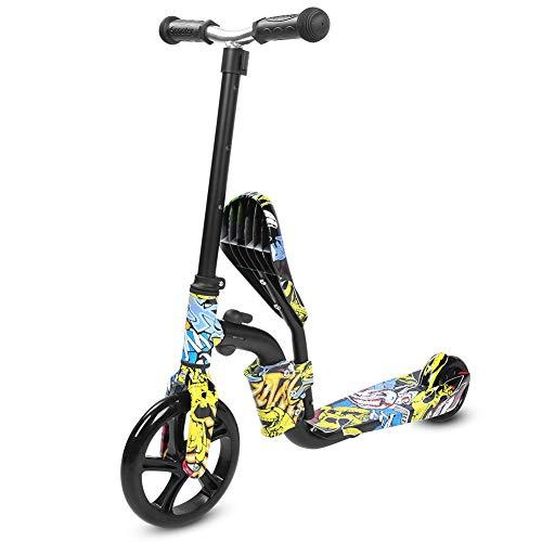 Demeras Scooter de Equilibrio de Doble propósito, Ligero, Multifuncional, Coche de Equilibrio para niños y niñas de 3 a 12 años