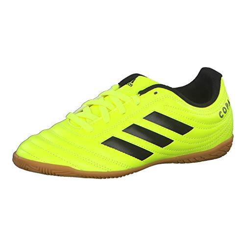 adidas Unisex-Child F35451_28 Indoor Football Trainers, Yellow, EU