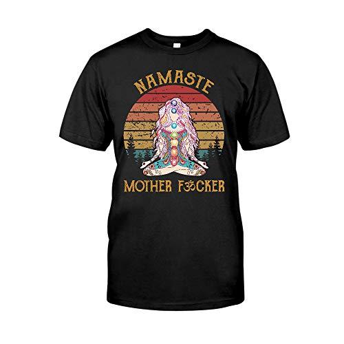 Yoga Lovers Namaste Mther Fcker Yogat Mat Yoga Mother Meditation Best Mothers-Day Gift For Women Girl Aunt - Ttlh20012109 T-Shirt