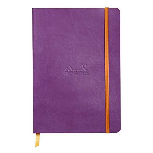 Rhodia 117460C - Cuaderno flexible, color morado