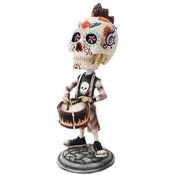 "RED ZOMBIE Bobble Head Gothic FANTASY Collectible Figurine Statue 7 1//4/"" New"