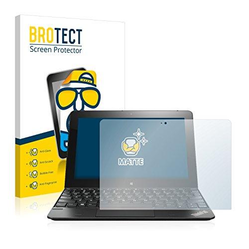 BROTECT 2X Entspiegelungs-Schutzfolie kompatibel mit Lenovo ThinkPad 10 Bildschirmschutz-Folie Matt, Anti-Reflex, Anti-Fingerprint