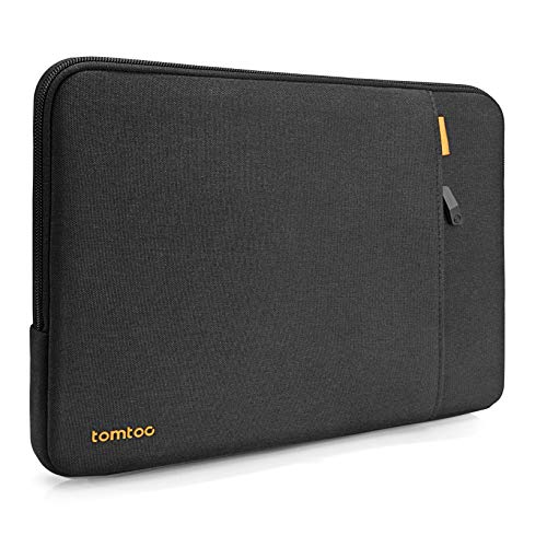 tomtoc Recycled Laptop Sleeve for 13-inch MacBook Air M1/A2337 A2179 A1932 2018-2021, MacBook Pro M1/A2338 A2251 A2289 2016-2021, 360 Protective Case for 12.9 iPad Pro 5th/4th/3rd Gen, Dell XPS 13