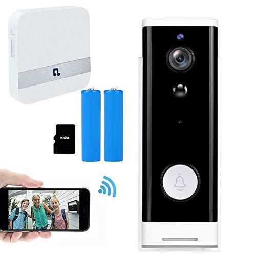 Peephole Doorbell Camera WiFi, Smart Video Doorbell Wireless 1080p HD...