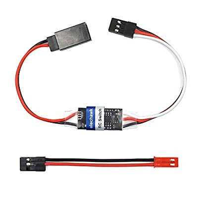 RC Remote Controlled AUX on/Off Electronic Switch Relay for Car Truck Boat LED Light Drone (4A)