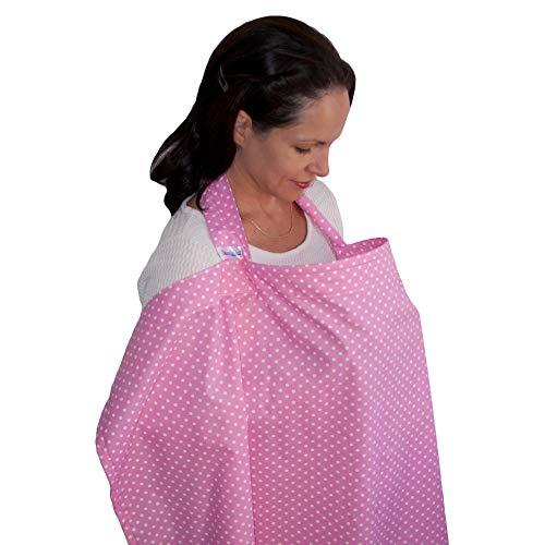 Dazoriginal Cubierta de Lactancia Capa Lactancia Cubre Pañuelo Lactancia Rosa