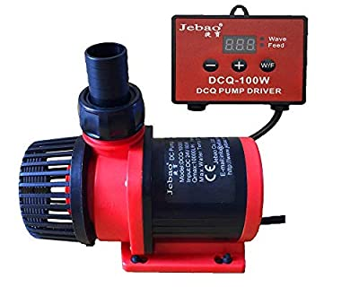 Jebao 80W 10000LPH Aquarium DC Controllable Water Return Pump Fish tank pump with Wave Function DCQ-10000(2650GPH)