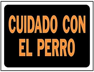 Hy-Ko Spanish Sign Dayglo Orange And Black 9