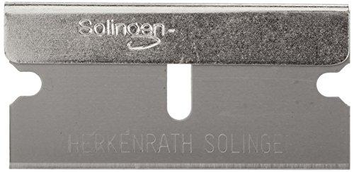 neoLab 2-7110 Klingen mit Griffleiste, 40 mm breit (5-er Pack)