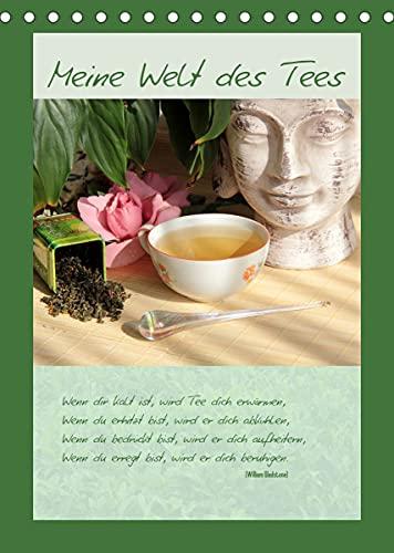 Meine Welt des Tees (Tischkalender 2022 DIN A5 hoch)
