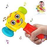 ACTRINIC-Direct Baby-Spielzeug für 12-18 Monate lustige Veränderbare Hammer mit Multifunktions,Lichter und Musik, Frühe Bildung für Kleinkinder,Jungen und Mädchen 1,2,3Jahre Alt