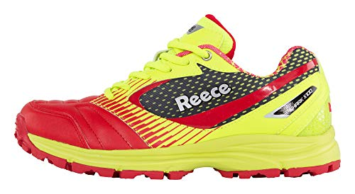 Reece Hockey Shark Hockey Schuh - YELLOW-RED, Größe #:10