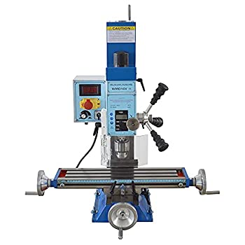 INTSUPERMAI WMD16V Benchtop Milling Drilling Machine Variable Speed Compact Mill Drill with Brushless Motor & MT2 Taper