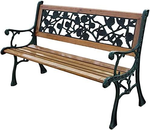 BDBT Outdoor Bench half Garden S Patio Factory outlet