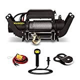 Champion 10,000-lb. Truck/SUV Winch Kit with Speed Mount and Remote Control