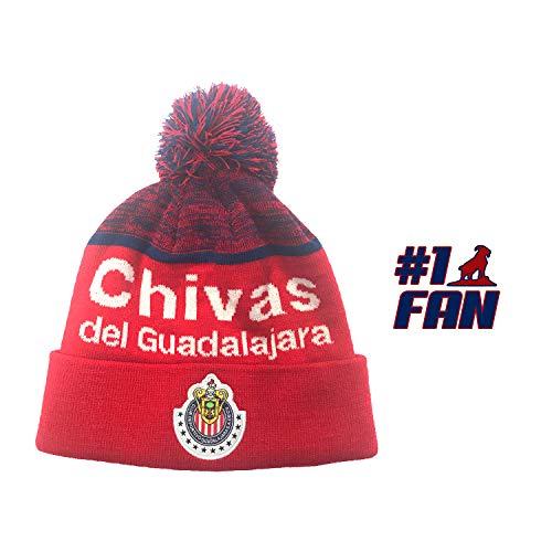 icon sports Mütze Chivas de Guadalajara, Herren, rot, Einheitsgröße