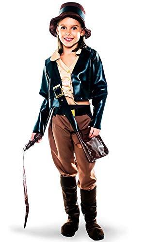 Disfraz de Arqueloga aventurera para nia