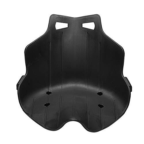 RJJX Cojín de Asiento de Kart a la Deriva equilibrada en Forma for Karting Hoverboard Negro (Color Name : Black)