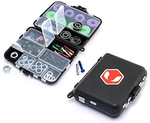 Venom Skateboards 47pcs Premium Hardware Geschenkpackung inkl. Aufbewahrungsbox Werkzeugkoffer/Kugellager/Bolzen