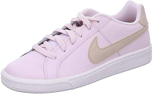 Nike Wmns Court Royale, Scarpe da Tennis Donna, Barely Rose/Fossil Stone/White, 38 EU