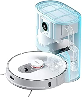 ROIDMI Eve Plus Robot Aspirapolvere e Mop Cleaner con Stazione di Aspirazione Automatica, Raccolta Intelligente della Polv...