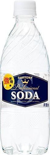 サントリー 炭酸水 ソーダ ペット 490ml×24本