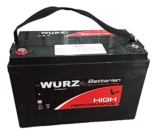 Deep Cycle - Batería AGM hermética, 12 V, 120 Ah