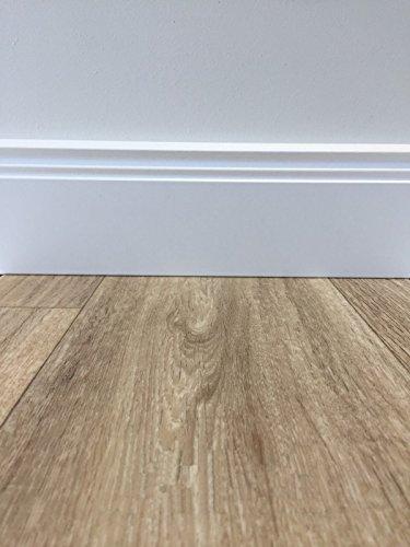 PVC-Boden Classic Holzoptik | Muster | Vinylboden versch. Design & Farben | Fußbodenheizung geeignet | Platten strapazierfähig & pflegeleicht | robuster, rutschhemmender Fußboden-Belag | phthalatfrei