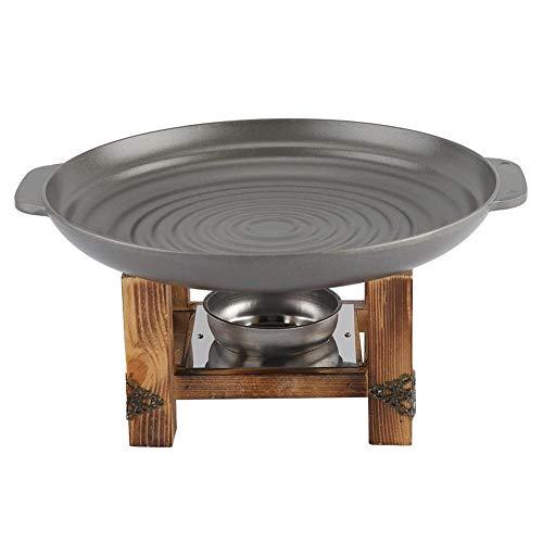 Grillplatte - Buffet Kochgeschirr, Aluminium Keramik Non Stick Grillplatte for Grillspieße Chafing Dish Buffet
