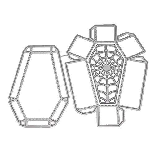 Beginfu New Flower Heart Metal Cutting Dies Stencils DIY Scrapbooking Album Paper Card Messerform Blume, Blume Herz Metall Stanzformen Papierkarte Embossing Machine Prägeschablonen