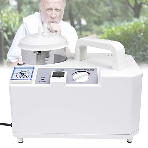 HAIT Dispositivo Bomba de Succión de Flema Esputo Eléctrico, Sin Presión Positiva, Sin Ruido, Operación a Largo Plazo, Fácil de Operar para Ancianos y Niños