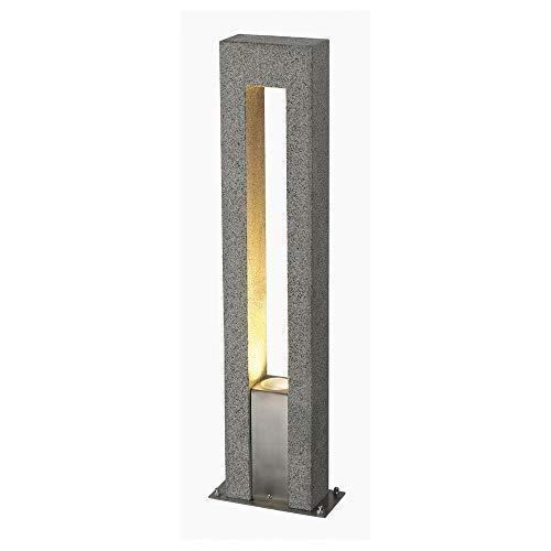 Wegeleuchte Pollerleuchte & Weglampe Wegeleuchte Granit ARROCK ARC IP44 GU10 Edelstahl | 1-flammig