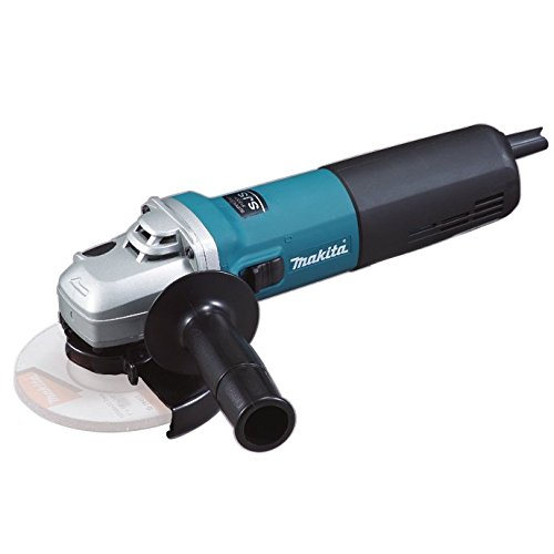 Makita 9565CR - Mini-Amoladora 125 Mm 1400W 11000 Rpm 2.2 Kg Sjs Sar Makpower