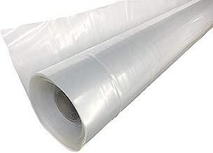 Farm Plastic Supply 4 Year Clear Greenhouse Film 6 mil thickness (12'W x 28'L)