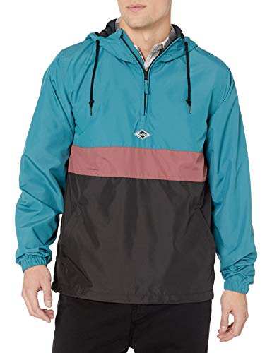 Billabong Men's Wind Swell Anorak Jacket Black Medium