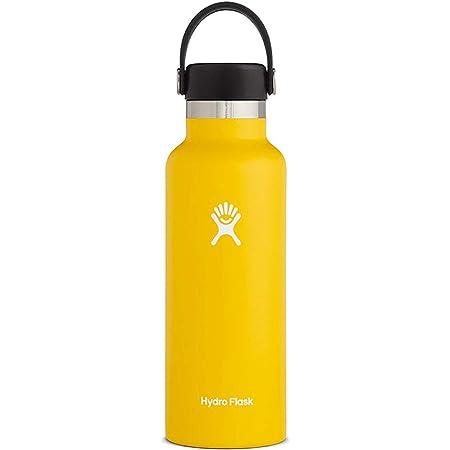 ハイドロフラスク 真空ボトル 保冷 保温 18oz(532ml) スタンダードマウス 25サンフラワー 5089013