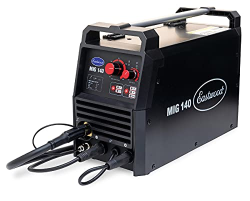 Eastwood 140 Amp MIG Welder 120V Tweco-Style Torch Unit for Metal & Thin Steel