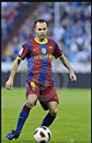 HGVFR Leinwand Bild Fußballstar Andres Iniesta Poster Und