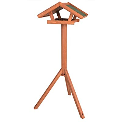 Trixie Natura Bird Feeder, with Stand, 46 × 22 × 44 cm, 1.15 m from Trixie