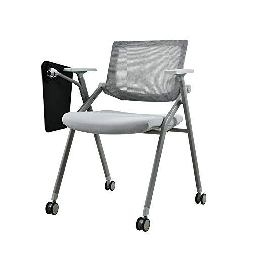 Elegante stoel, inklapbaar, met de gesprekspartner voor reclamatie, schoolreferentie, zitting, kantoor, vergadering, zitzaal voor gasten/ontvangers.