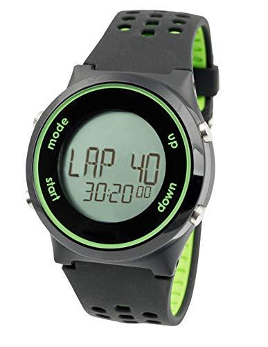 Swimovate PoolMateSport Schwimm-Tracking Watch, schwarz/grün, Einheitsgröße
