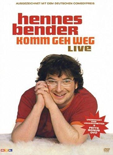Hennes Bender - Komm geh weg live (2 DVDs)