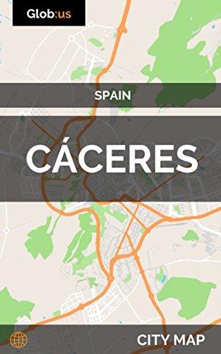 Cáceres, Spain - City Map [Idioma Inglés]