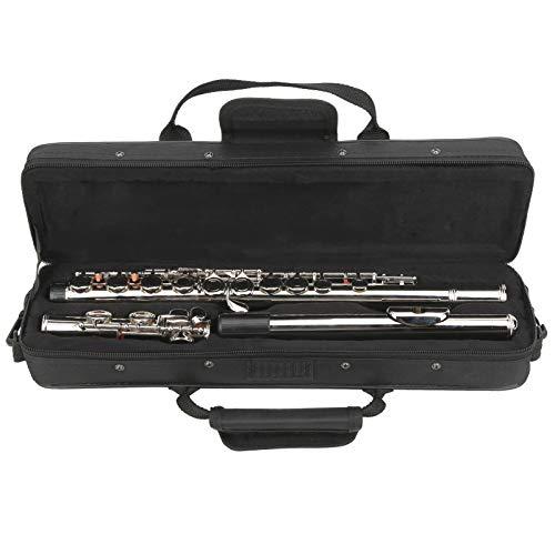 Pwshymi Leichtes Konzert Flöten-Trainingsübung für Schüler oder Anfänger.(Silver)