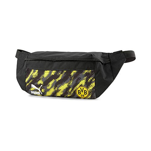PUMA BVB Iconic Street Waist Bag Puma Black-Cyber Yellow