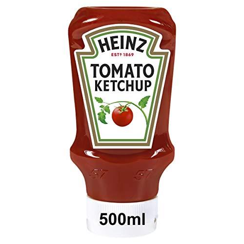 Heinz Tomato Ketchup, Kopfsteherflasche, 10er Pack (10 x 500 ml)